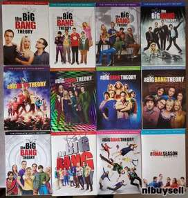 Big bang theory 12 temporadas originales