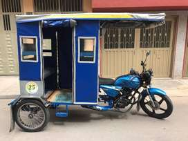 Bicitaxi moto en buen estado
