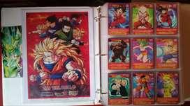 Cartas Dragon Ball Trilogía. Colección Completa!