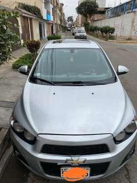Se vende Chevrolet Sonic 2014 uso particular
