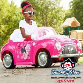 Carro Montable Electrico minnie