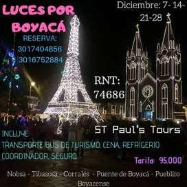 TOUR LUCES POR BOYACÁ