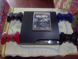 Vendo play 3 a 170 nítido 4 controles