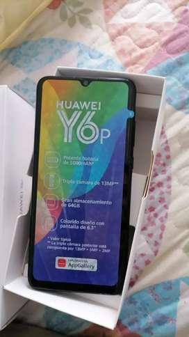 Vendo celular Huawei Y6 P