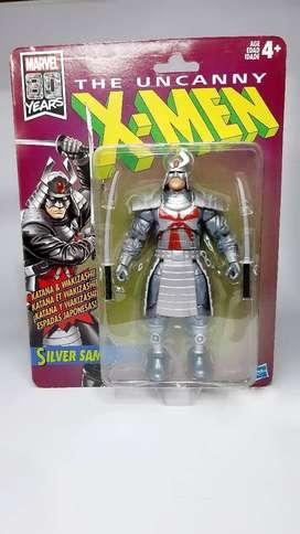 Figura De Acción Marvel Silver Samurai