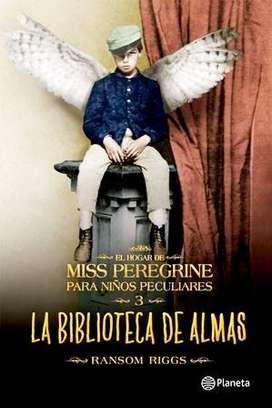 La Biblioteca De Almas, RANSOM RIGGS, Miss Peregrine 3