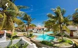 Vendo en venezuela una cabaña en playa el agua  esta situada dentro del hotel tropical refuge verla es comprarla