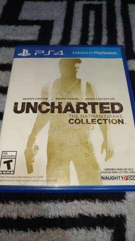 Uncharted the nathan drake collection usado para ps4