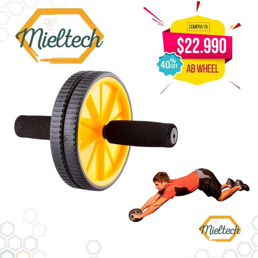 rueda para  gimnasio en casa ab wheel Rodillo para abdominales 0