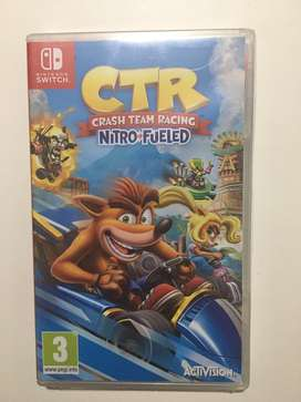 Ctr crash nitro fueled