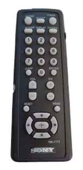 Control remoto de Tv sony