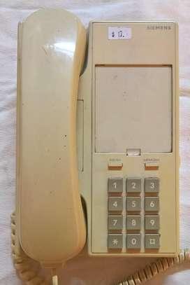 TELEFONOS FIJOS - SIEMENS SET 211 Y FORMA MULTISERVICIO