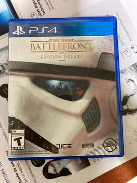 Videojuego Star Wars Battlefront Edicion Delixe para Playstation 4