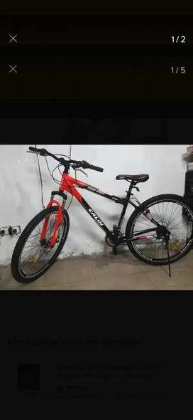 Vendo bicicleta caloi shimano usada impecable