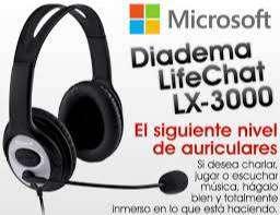 Diadema Microsoft Lifechat L3000