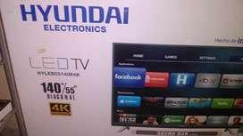 "TV Smart 55"" Hyundai"