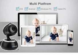 Monitor de bebe vealo en su celular con audio desde cualquier lugar del mundo,visión nocturna. Camara Robotica