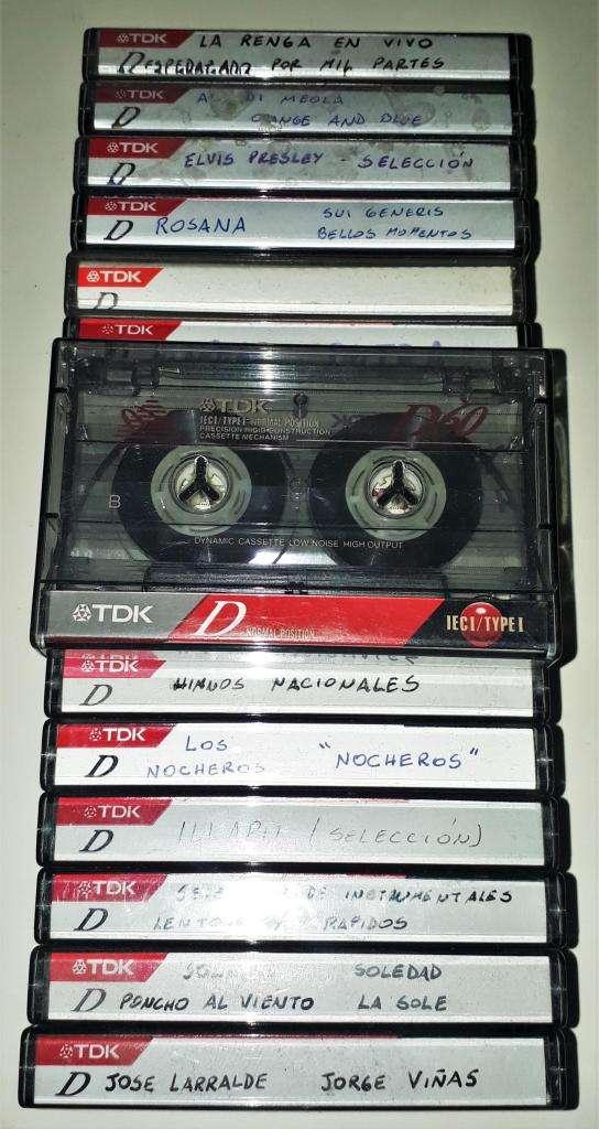 Cassette Tdk D60 Ieci Type I Normal Position Un Solo Uso 0