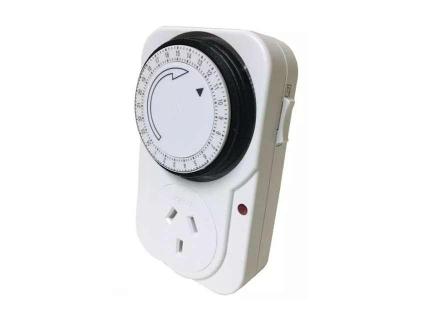 Reloj Temporizador Analógico Mecánico 10a Zona Alto Rosario BLASTER PC 0