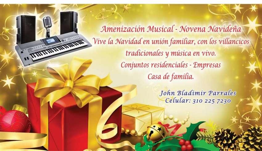 NOVENAS NAVIDEÑAS VILLAVICENCIO-MUSICO-CANTANTE-CON PIANO Y SONIDO 0