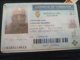 Busco trabajo de chófer licencia tipo E