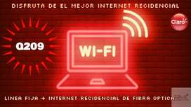 INTERNET DOBLE RECIDENCIAL