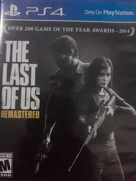 Vendo juego The Last of us remastered
