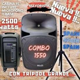 LLEGARON LOS COMBOS CABINA AMPLICADA CON TRIPOE