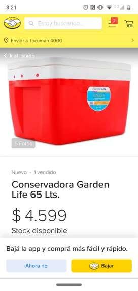 Conservadora greenlife 65lts