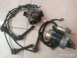 Arrancador y distribuidor Nissan GA-15