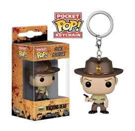 Funko Pop Rick Grimes Walking Dead Llave