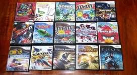 Colección de 58 videojuegos para Nintendo Wii