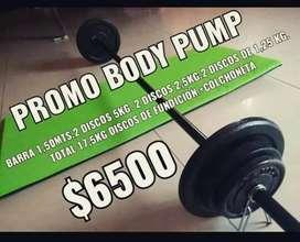 Body pump combo