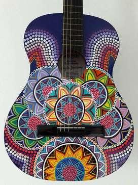 Guitarra artistica