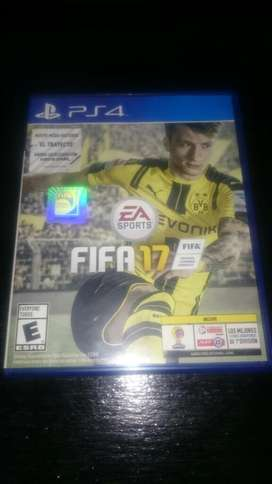 Fifa 17 Play4  Ps4 Fisico Original