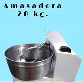 COMBO AMASADORA 20 K Y SOBADORA 450