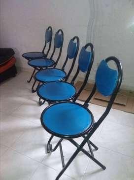 Juego de sillas (varias o por unidad)