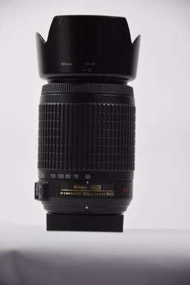 Nikon Lens 55 200 VR ED Zoom