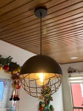 Vendo hermosa lampara tipo vintage