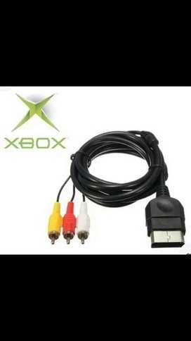 Cable audio y video para xbox arcade