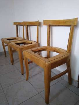 Sillas antiguas de madera estilo Thonet