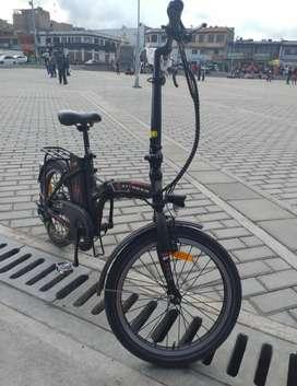 De Oportunidad Vendo Bicicleta Eléctrica Auteco T-flex - Negro Azul 2020