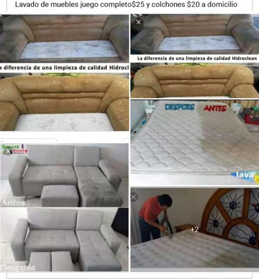 Lavado de muebles y colchones 0