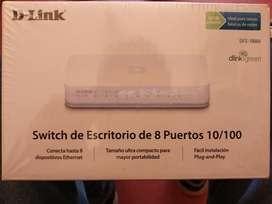 Switch 8 Puertos D-link