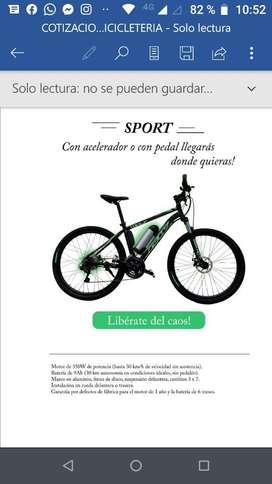 Convierte Tu Bici a Electrica
