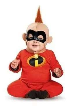 Disfraz importado bebe jack los increíbles.
