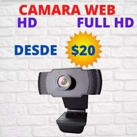 Cámaras web full HD