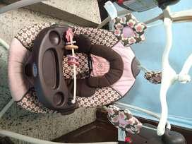 Columpio musical automático para bebé