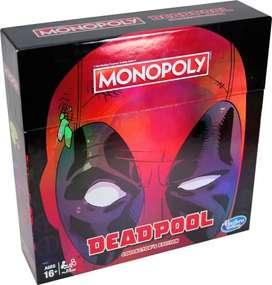 Monopoly Marvel Deadpool Edicion de Colección  Original