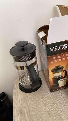 Cafetera de piston NUEVA
